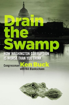 Drain the swamp book cover
