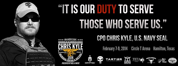 memo on chris kyle Taya kyle is the widow of slain american sniper author chris kyle, the executor of her husband's estate and the defendant in a defamation suit filed by wrestler-turned-governor jesse ventura .