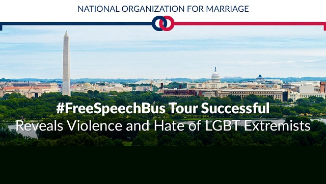 free speech bus tour