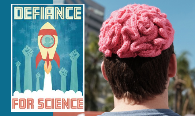 march for science pink brain hat