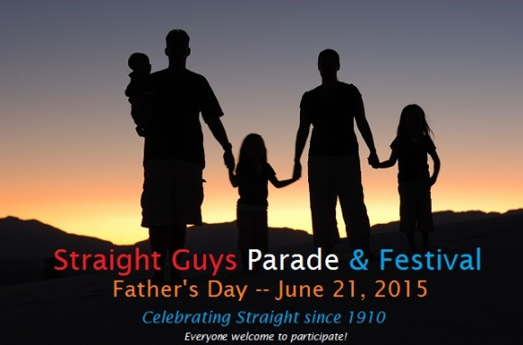 straight guys parade and festival
