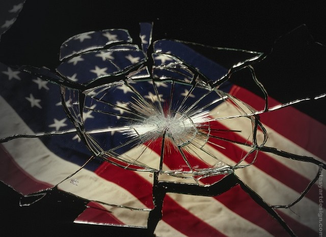 us-flag-broken-glass