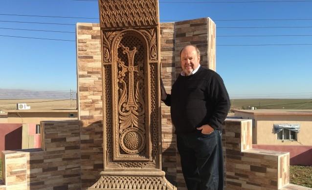 Armenian genocide monument in Hawresq, Kutdistan