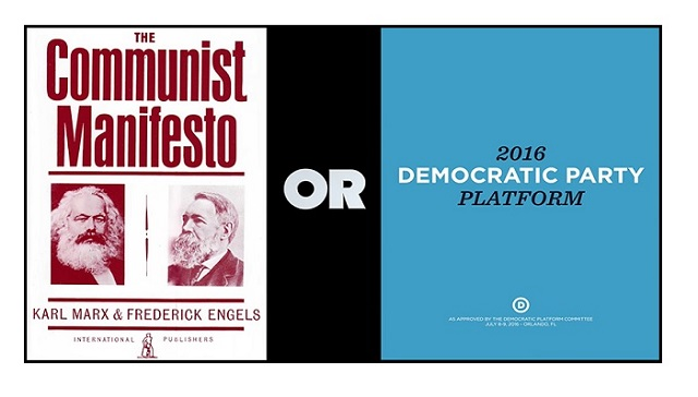 VIDEO Communist Manifesto Or Democratic Party Platform