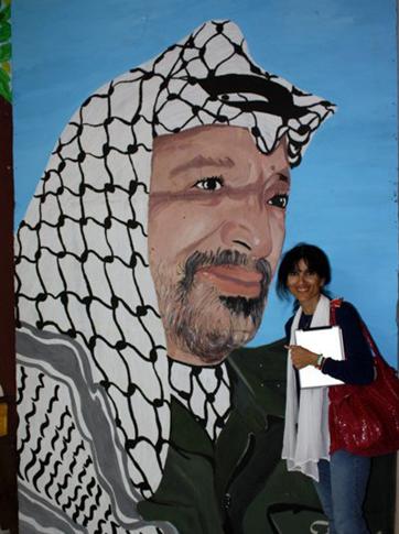 Manal palestine yasser arafat2