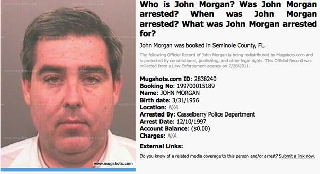 Exposed: Do you know the real John B  Morgan, Charlie Crist's alter