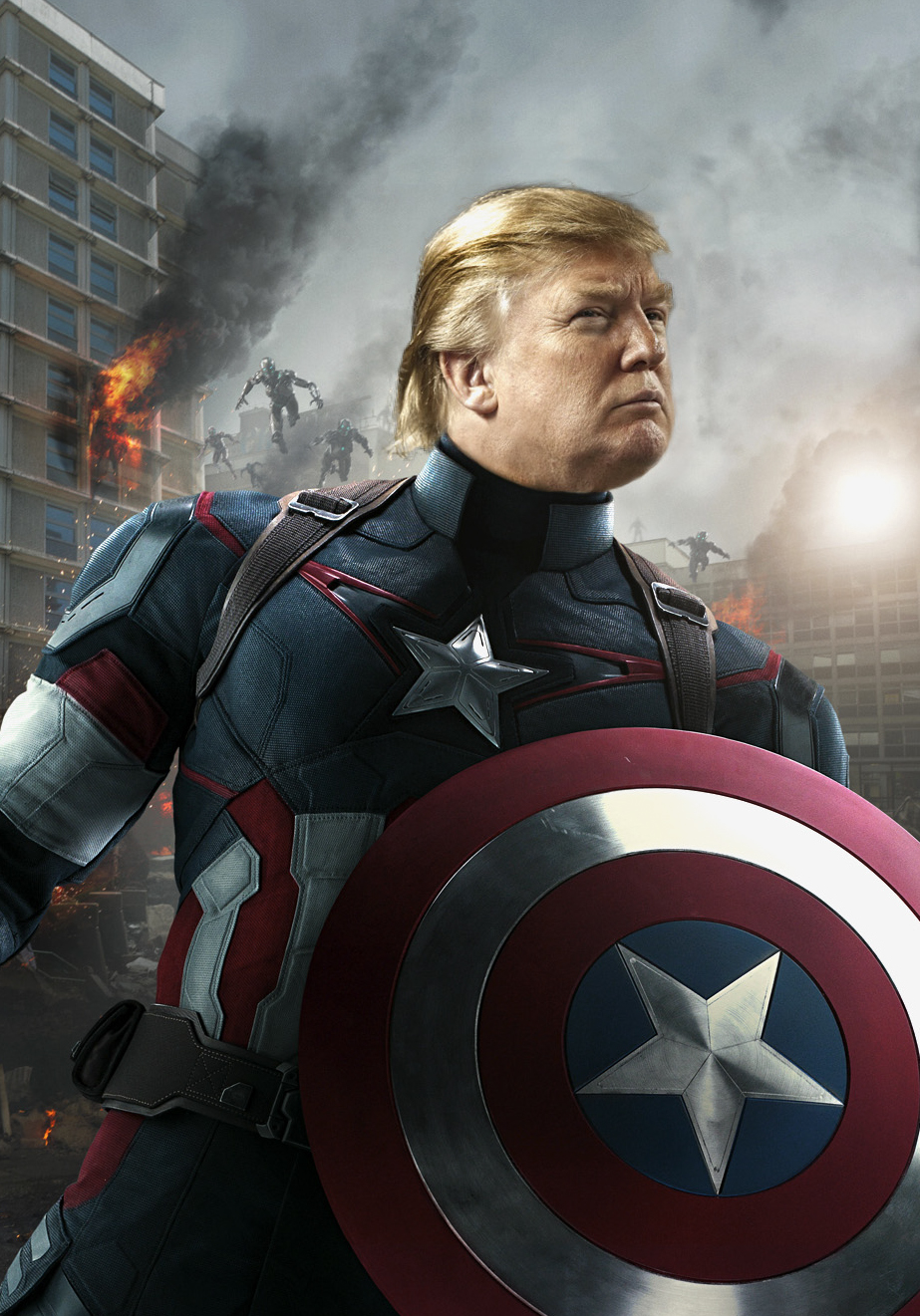 Captain America battles the United Nations in Marvel film ...